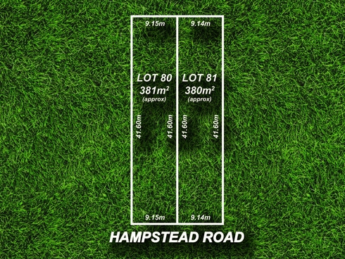 Lot 80 & 81/357 Hampstead Road Northfield, SA 5085