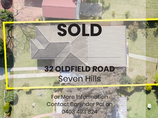 32 Oldfield Road Seven Hills , NSW, 2147